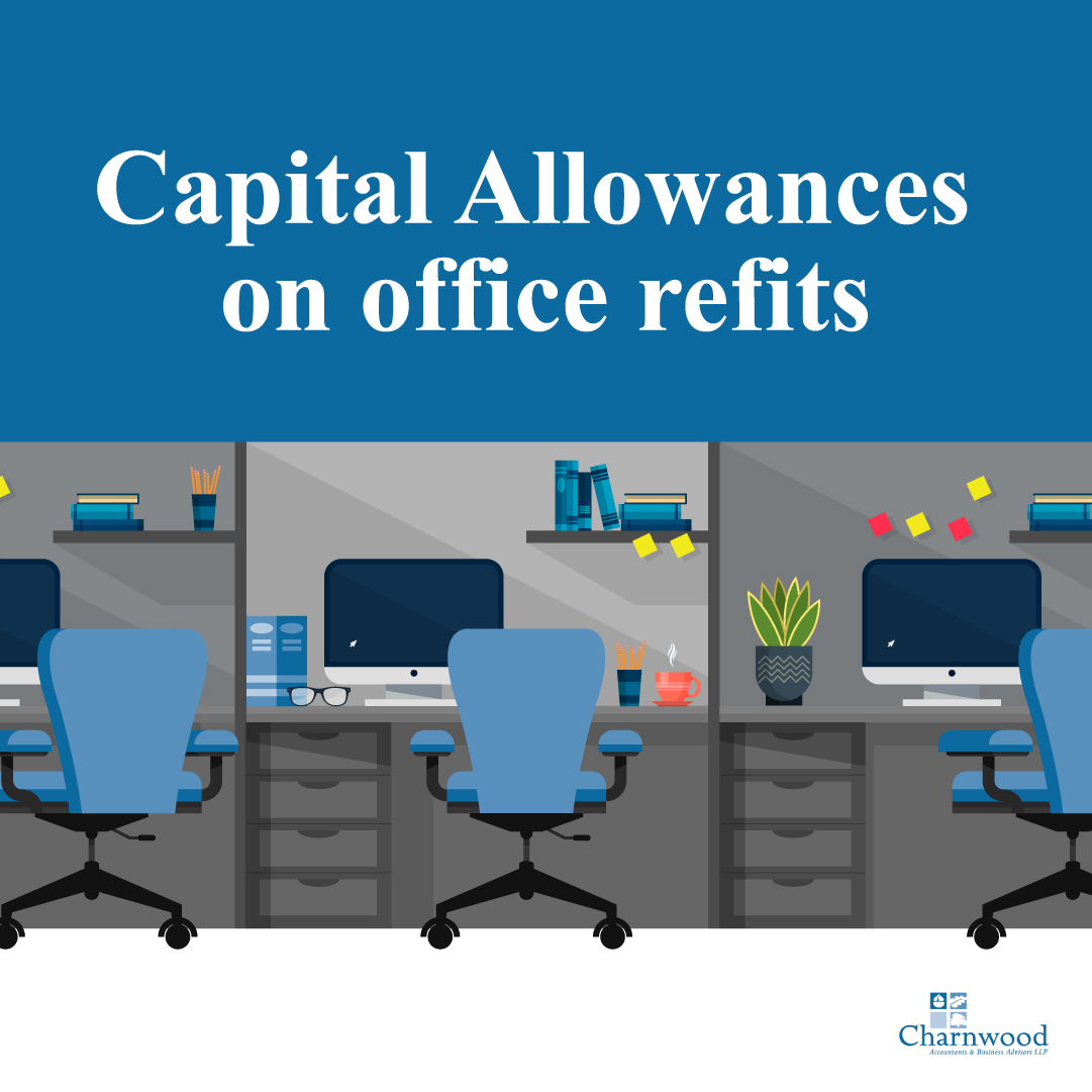 Capital allowances on an office fit out