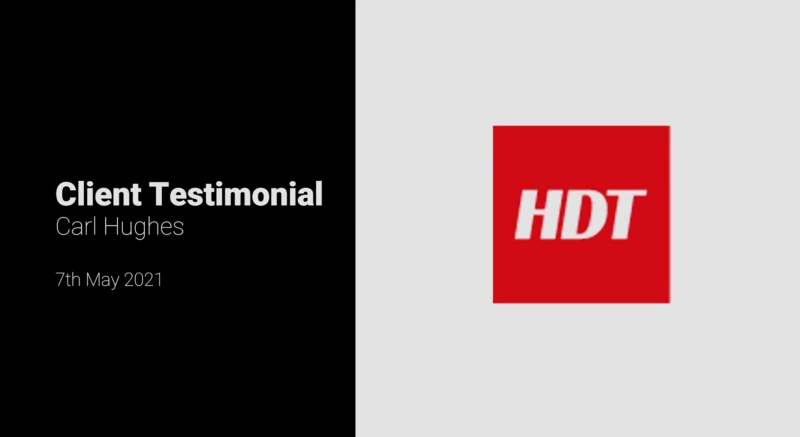HDT Client Testimonial