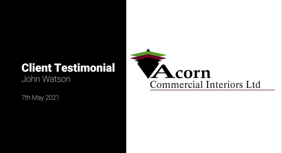 Acorn Commercial Interiors Client Testimonial